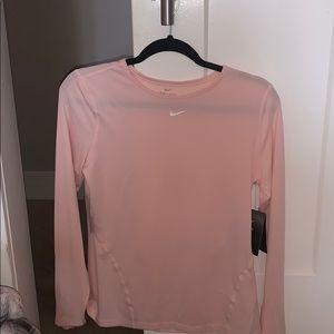 Pink Nike Workout Top
